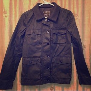 J. Crew Washed Aged Utility Jacket, XS